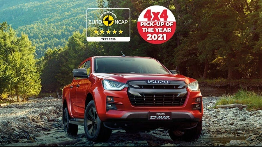 The New Isuzu D-Max Crowned 2021 Pick-Up of the Year by 4x4 Magazine